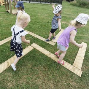 Balancing Planks Set