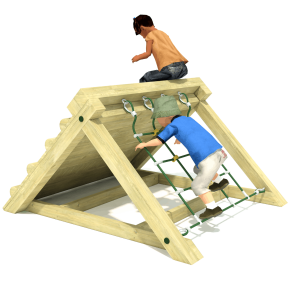 Freestanding Scramble Climbing Frame