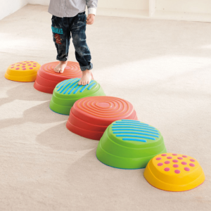 Rainbow River Stepping Stones - 6 Pieces