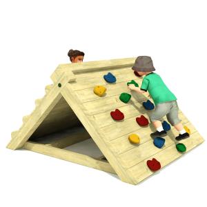 Freestanding Rock Climbing Frame