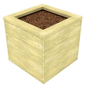 Square Mud Planter