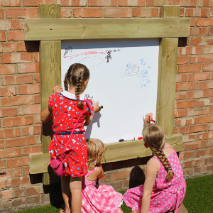 Whiteboard Wall Panel With Timber Frame