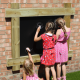 Chalkboard Wall Panel With Timber Frame