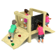 Elm Freestanding Adventure EYFS Playground Tower