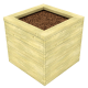 Square Mud Planter