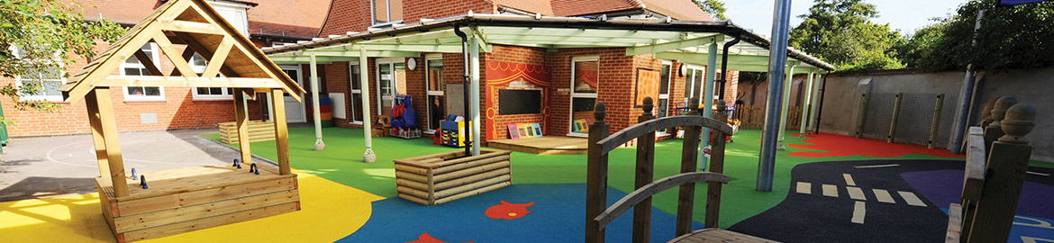 Nursery play equipment supplied by Sovereign